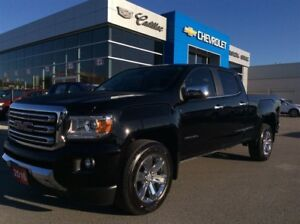2016 GMC Canyon 4WD SLT | Leather | Navi | Bluetooth
