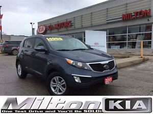 2011 Kia Sportage LX | HEATED SEATS | BLUE TOOTH | ALLOYS