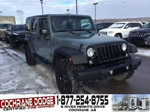 2015 Jeep WRANGLER UNLIMITED Sport WILLYS EDITION W/MANUAL TRANS
