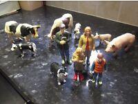 ELC Farm family plus farm animals