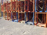 Cage metal pour racking