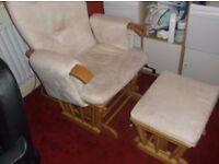 nursing/ rocking/gliding chair