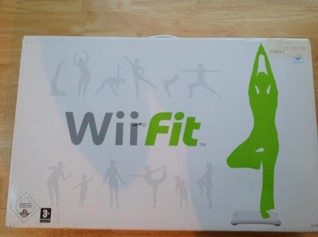 Nintendo Wii fit board, no games (collection only)