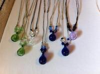 NEW hand made essential oil diffusre necklaces