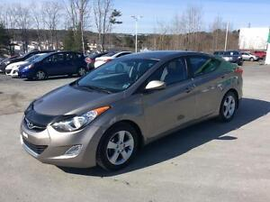 2013 Hyundai Elantra GLS AUTOMATIC WITH SUNROOF, ALLOYS AND BLUE