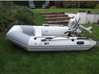 Zodiac Bombard Inflatable Boat With 5HP Honda Outboard Engine