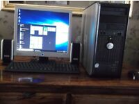 DELL COMPUTER,,,FULL SET UP