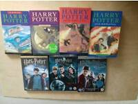 Harry Potter book and DVD bundle