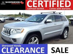 2012 Jeep Grand Cherokee Overland 4x4 | HEATED + COOLED LEATHER