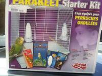 brand new starter kit bird cage