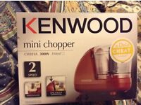KENWOOD mini chopper CH181A 300W 350ml