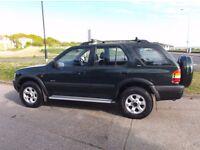 Vauxhall Frontera 2.2l DTi (2000) manual Diesel 4x4 SUV - New MOT