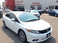 2012 Honda Civic Si-A finely tuned vehicle: Enjoy the performanc
