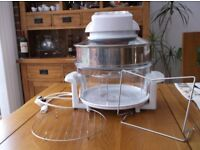 PROlecric 12 litre Halogen Oven with extending ring and other accessories.