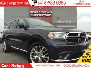2016 Dodge Durango Limited | AWD | SUNROOF | LEATHER | BACK UP C