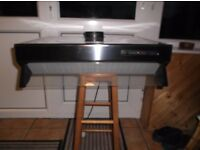 beko cooker hood, put on wall but never used as new