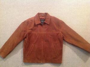 Danier suede men's jacket.  Size medium