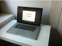 "Macbook Pro 2012 15"" - i7 - 8GB - 500GB SSD- Logic Pro , Final cut"