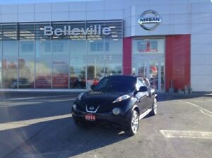 2014 Nissan Juke SV AWD LOCAL TRADE