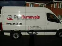 DLJ removals/ man with a van