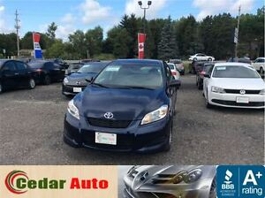 2012 Toyota Matrix FREE WINTER TIRE PACKAGE - With the Purchase