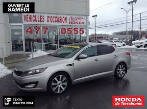 2011 Kia Optima EX Luxury Navigation Cuir Toit Ouvrant