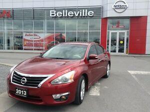 2013 Nissan Altima 2.5 SL 1 OWNER LOCAL TRADE