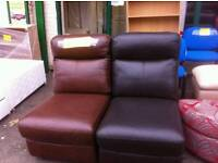 Leather Sofa Section Chairs