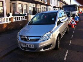 Vauxhall Zafira 1.9 2008 Life Very Clean Condition