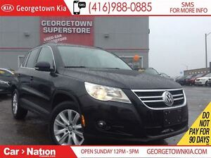 2010 Volkswagen Tiguan AS IS SPECIAL | AWD| LEATHER| HTD SEATS|