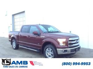 2016 Ford F-150 Lariat 4x4 with Navigation, Auto Start/Stop and
