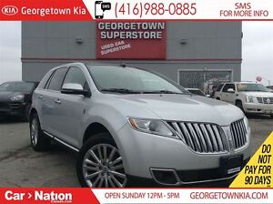 2013 Lincoln MKX NAVI | PANO ROOF | AWD | BACK UP CAM |