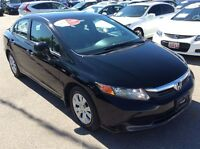 2012 Honda Civic LX-Easy terms available.