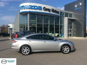2011 Mazda MAZDA6 GT, Heated Leather, Sunroof, low km One Owner!