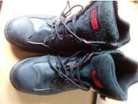 Steel toe Black Rock work boots