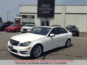 2014 Mercedes-Benz C300 4MATIC SPORT | SUNROOF | NO ACCIDENTS
