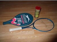 Slazenger Panther Tennis Racket and 3 Balls