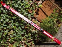 SKIS FINGBERG GUTERSLOH 190 RED SKIS USED NEED A BIT OF TLC