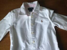 Ralph Lauren girls shirt