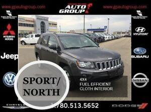 2017 Jeep Compass Sport/North | 4X4 | Fuel Efficient