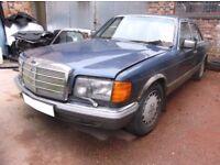 MERCEDES 500SE W126 MK1 HEADLIGHT £45 BREAKING WHOLE CAR