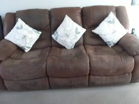 Recliner sofa and chair £200 ONO