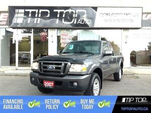 2007 Ford Ranger Sport ** Low KMs, Great Price, 2WD **