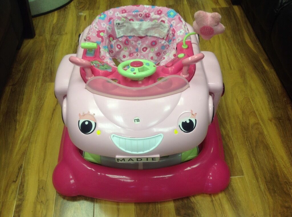 5b0f788b4 Mothercare 3 in 1 pink baby walker
