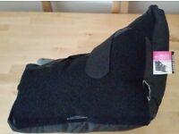 MEDLINE MDT823330 HEELMEDIX Heel Protector,Black and Gray,Unisize