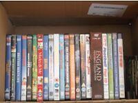 48 assorted dvd's