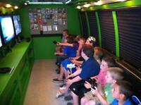 GAME SHUTTLE..............MOBILE VIDEO GAME BUS!!!!!!!!!!!!!