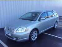 Toyota avensis tourer vvt-it 90k very clean leather