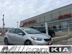 2014 Kia Forte EX | BACKUP CAMERA | SUNROOF | ALLOYS | HEATED SE