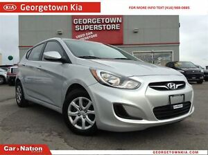 2014 Hyundai Accent ONLY 55,30KMS | HEATED SEATS | BLUETOOTH AUD